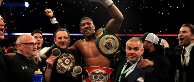 JOSHUA v KLITSCHKO FIGHT REPORT