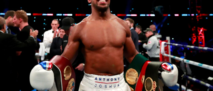 Anthony Joshua's next fight to be against Jarrell Miller on June 1