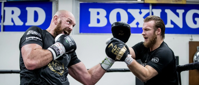 Gareth Speaks with Tyson Fury trainer Ben Davison