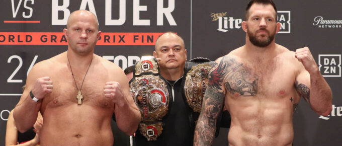 Bellator 244: Ryan Bader says Vadim Nemkov 'is legit' but American lays claim to top of MMA's 205 tree