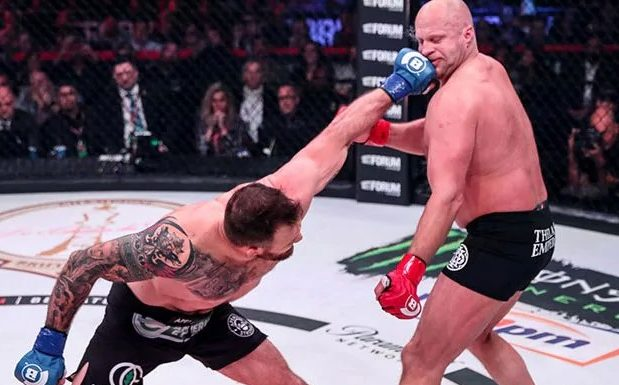 Ryan Bader thumps Fedor Emelianenko into History with a KO in 35 Seconds