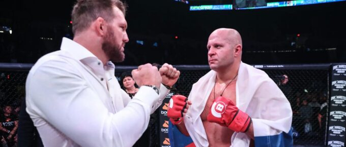 Ryan Bader: 'If this was the NBA it would be like being against Michael Jordan'
