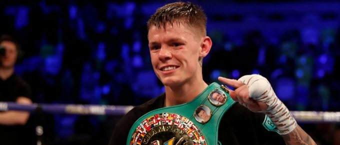 Charlie Edwards cruises to first defence of WBC flyweight title with masterful win over Angel Moreno