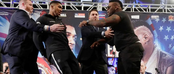 Anthony Joshua fight with Jarrell Miller in doubt after reports of alleged positive test