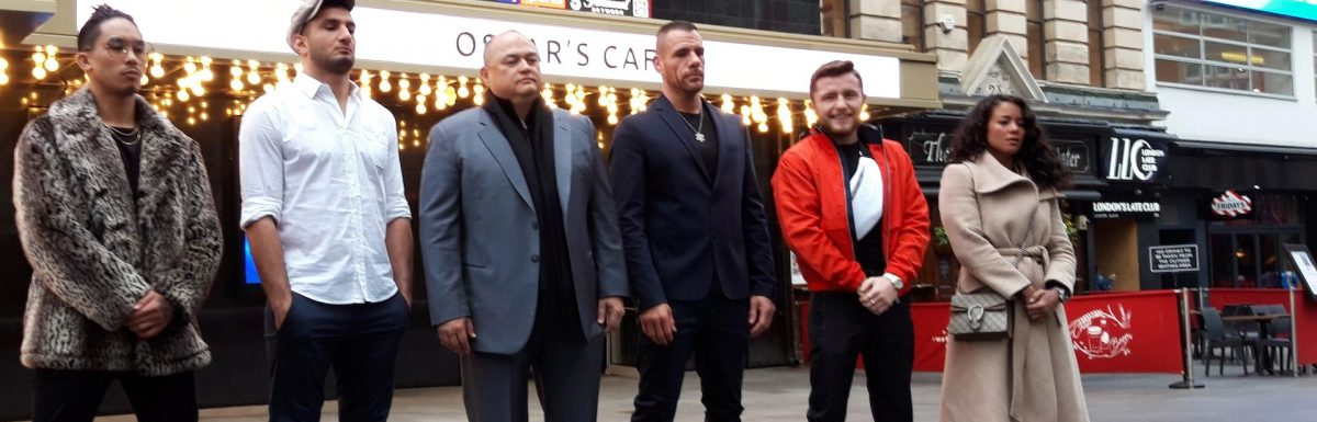 Stars of Bellator MMA hit Leicester Square on wild day for fight sports