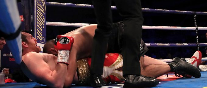 British heavyweight boxer Kash Ali disqualified for biting opponent David Price