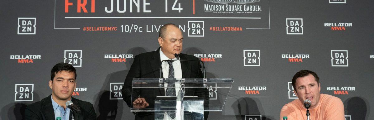 Chael Sonnen has perfect foil in Lyoto Machida for Madison Square Garden return  for Bellator MMA