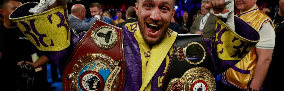 Exclusive: Vasyl Lomachenko eyes Luke Campbell bout after destroying Anthony Crolla in four rounds