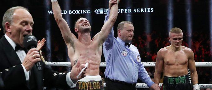 Josh Taylor claims IBF super lightweight title after Super Series semi-final battle with Ivan Baranchyk