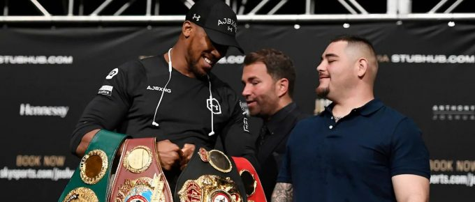 Anthony Joshua adopts 'prison mindset' ahead of make-or-break Andy Ruiz rematch