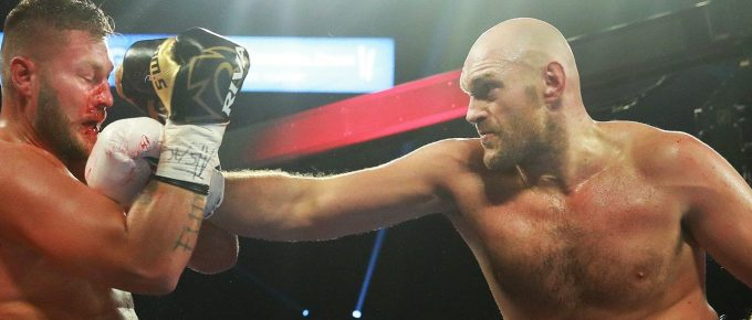 Gypsy King Tyson Fury on all the dossers in WWE and Deontay Wilder