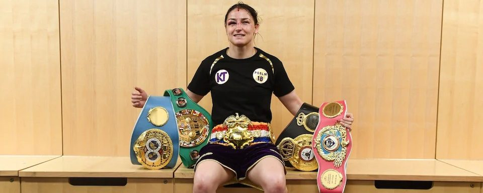 Katie Taylor makes history by unifying all four world lightweight titles