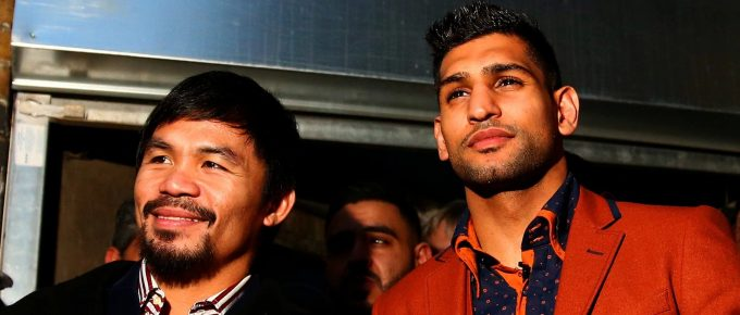 Amir Khan claims he has a 'verbal agreement' to fight Manny Pacquiao later this year