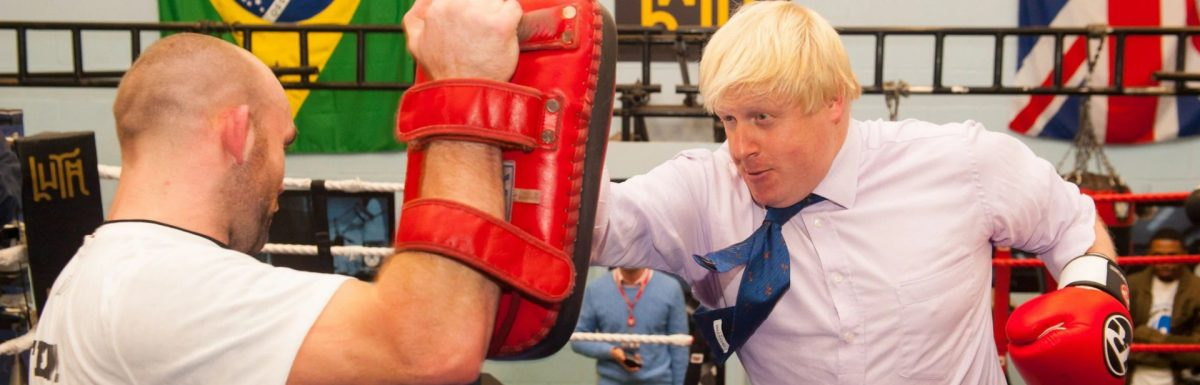 The night Boris Johnson and I agreed to slug it out in a cage fight