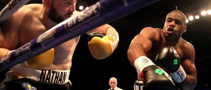 Daniel Dubois accused of giving up too easily after defeat to Joe Joyce