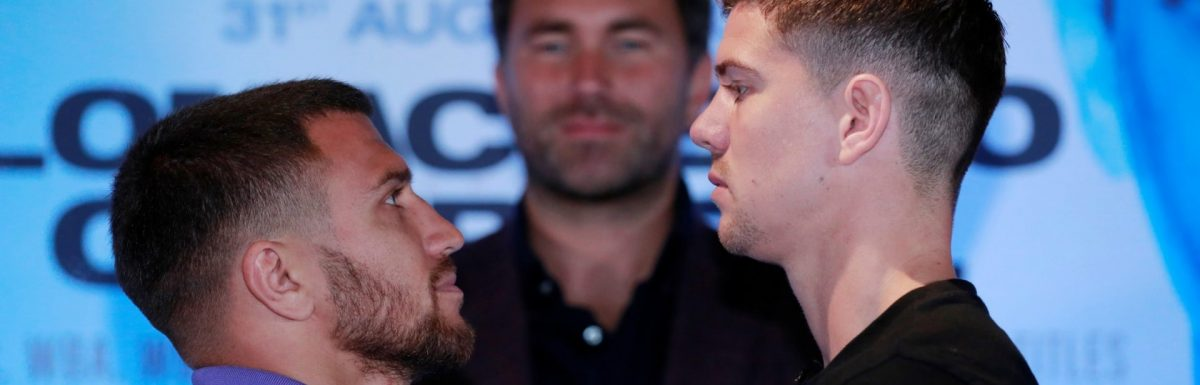 Gareth A Davies talks to Luke Campbell & George Groves