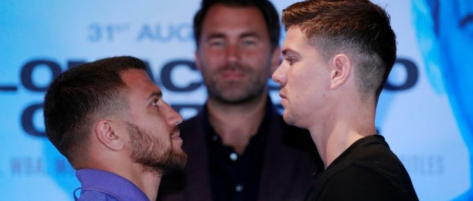 Luke Campbell rejects underdog tag as he prepares to fight lightweight king Vasyl Lomachenko in London