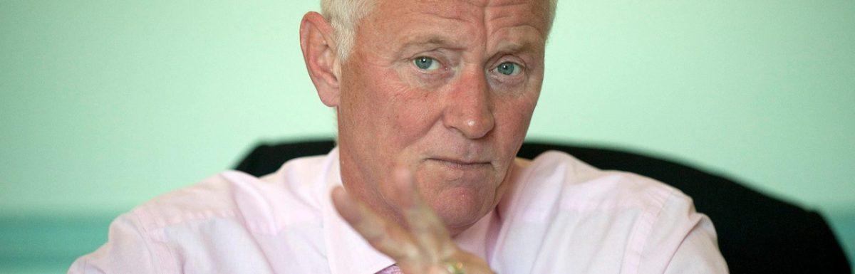 Barry Hearn on watching his boxing event from his office on his own land from his former home