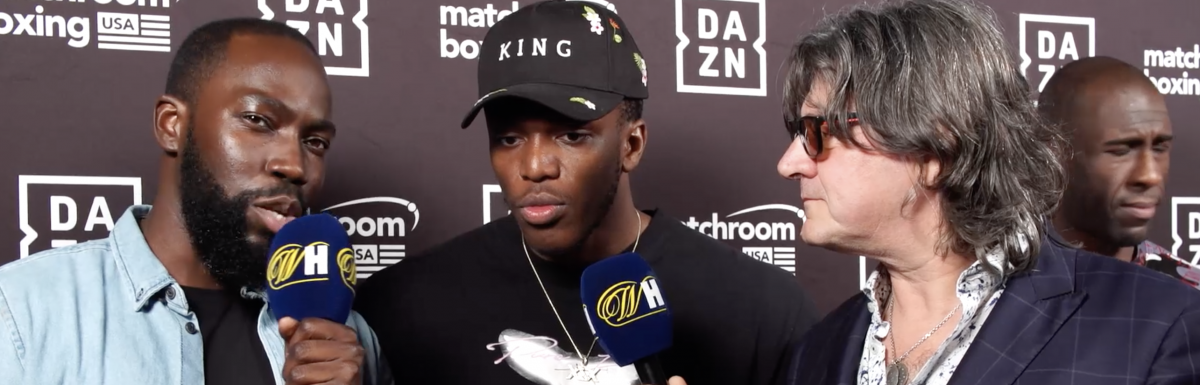 KSI: 'I can't wait to get in the ring and show how insane I am'