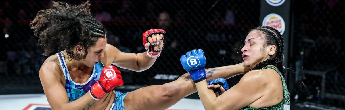 The beauty of women's fighting: Alejandra Lara versus Veta Arteaga presses case for Bellator women's flyweight tournament