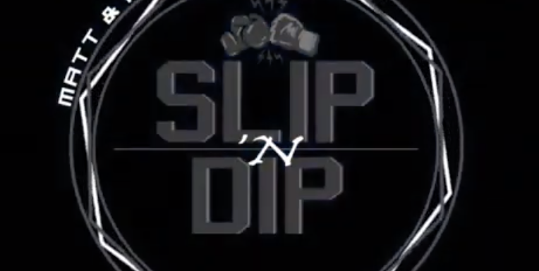 Gareth A Davies on the SlipNDip Podcast with Andrea Lee w/ hosts Kendrick and Matt