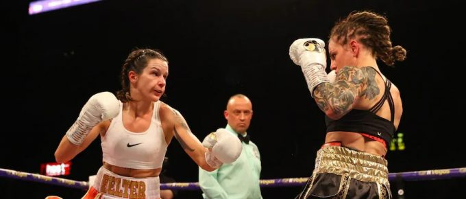 WBC super-featherweight champion Terri Harper talks relationships, working in a chip shop and targeting match-up with Katie Taylor