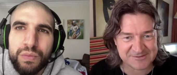 Ariel Helwani and Gareth A Davies discuss UFC 249 impact of Covid-19 Ferguson-Gaethje & Cejudo-Cruz