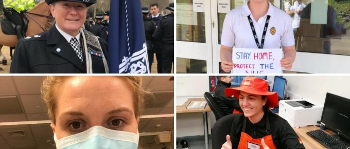Five sportswomen turned key workers tell their stories: from the NHS front line to policing London – and keeping B&Q stocked up