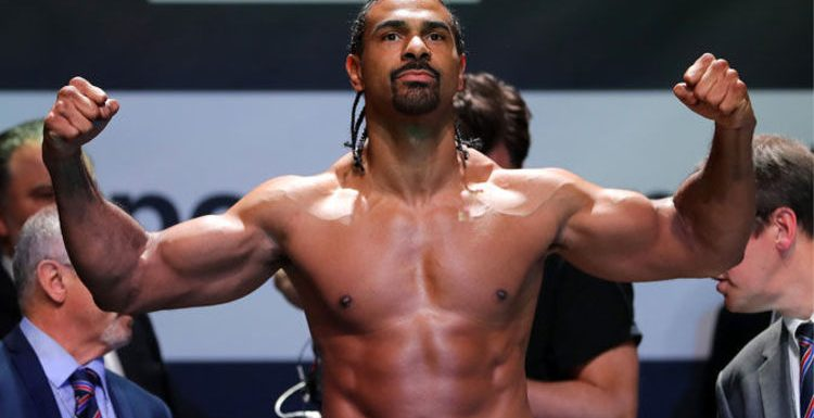 David Haye interview: 'It would be optimistic to get 20,000 people sitting next to each other this year'