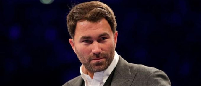 Eddie Hearn previews Matchroom shows with Dillian Whyte Katie Taylor and Terri Harper & arena return