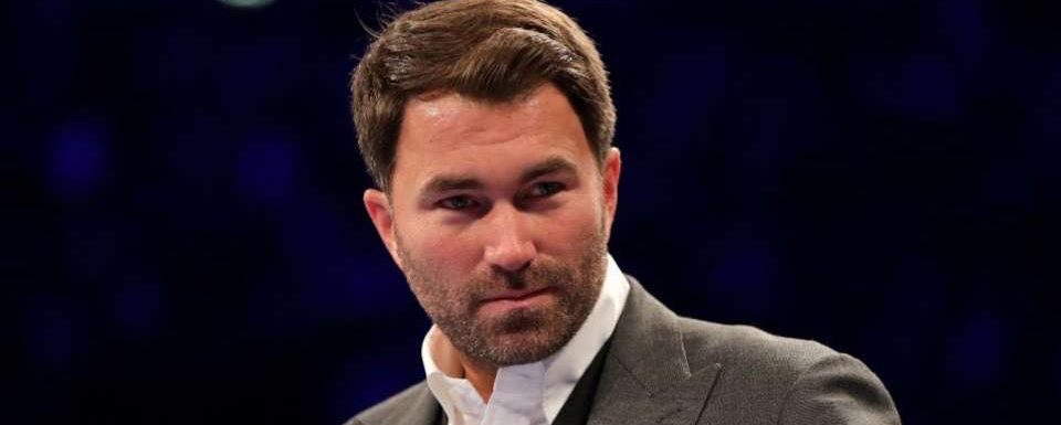 Government 'detached from reality' for ignoring boxing in rescue funding package, says Eddie Hearn