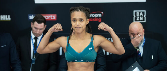 Natasha Jonas speaks of her being robbed of world titles by judging decision against Terri Harper