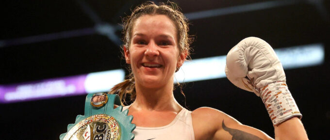 Terri Harper dreams of boxing in US, but stays focused on defence of WBC title