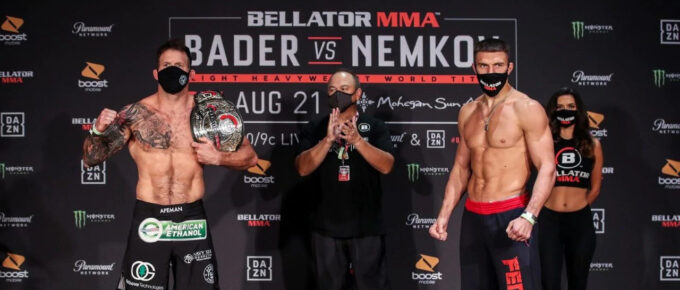 Bellator 244: Vadim Nemkov steps out of the shadow of Fedor Emelianenko in world title fight with Ryan Bader