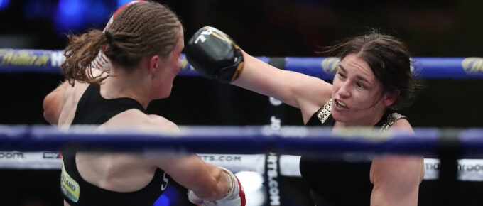 Katie Taylor could face one of MMA's biggest stars in next contest