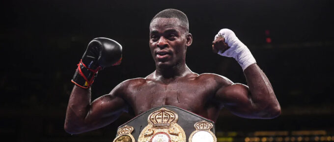 Joshua Buatsi rides early storm to secure stoppage victory against Marko Calic in seventh round