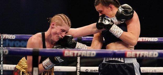 Savannah Marshall dominates Hannah Rankin to win WBO middleweight world title