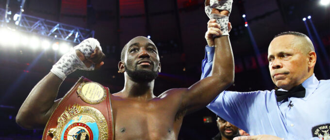 Kell Brook stopped inside four rounds by Terence Crawford