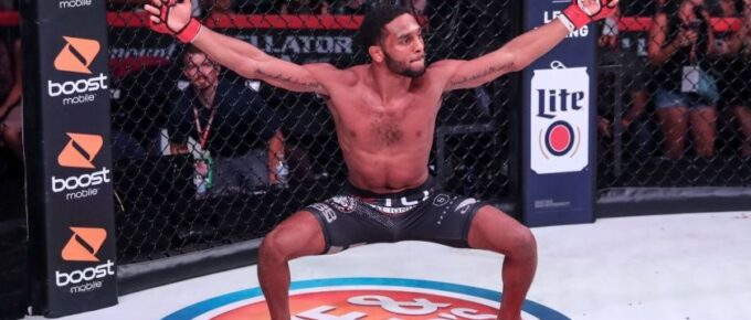"""Bellator 253 AJ McKee on Darrion Caldwell: """"I'll make him fight he's used to smothering opponents"""""""