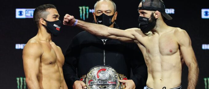Bellator 252: Will Pedro Carvalho mind games and self-belief be enough to dethrone champion Patricio Pitbull?