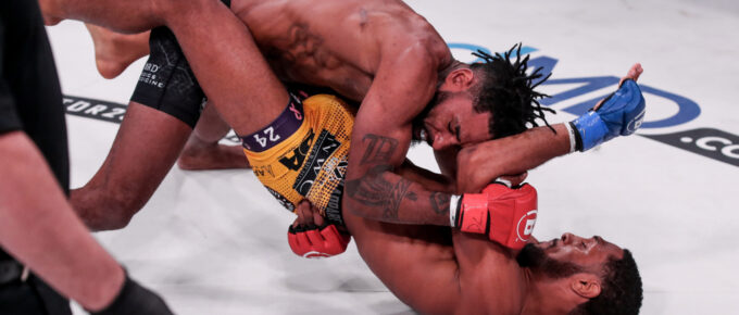 Bellator 253: AJ McKee signals brilliance with finish of Darrion Caldwell with 145 crown and 1 million dollar prize in sight