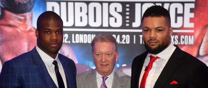 'The winner is in the big time' Stakes are high for Daniel Dubois and Joe Joyce in all-British heavyweight clash
