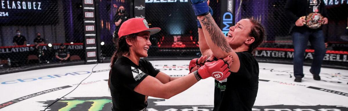 Bellator 254: Juliana Velasquez defeats Ilima-lei Macfarlane to become fourth current Brazilian champion in fight league