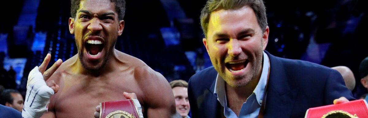 Eddie Hearn: Anthony Joshua believes Tyson Fury fight will never happen