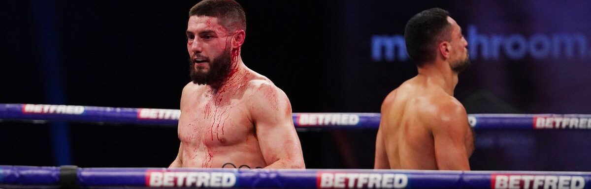 Josh Kelly's progress halted by David Avanesyan: more substance over style needed to repel aggressive foes