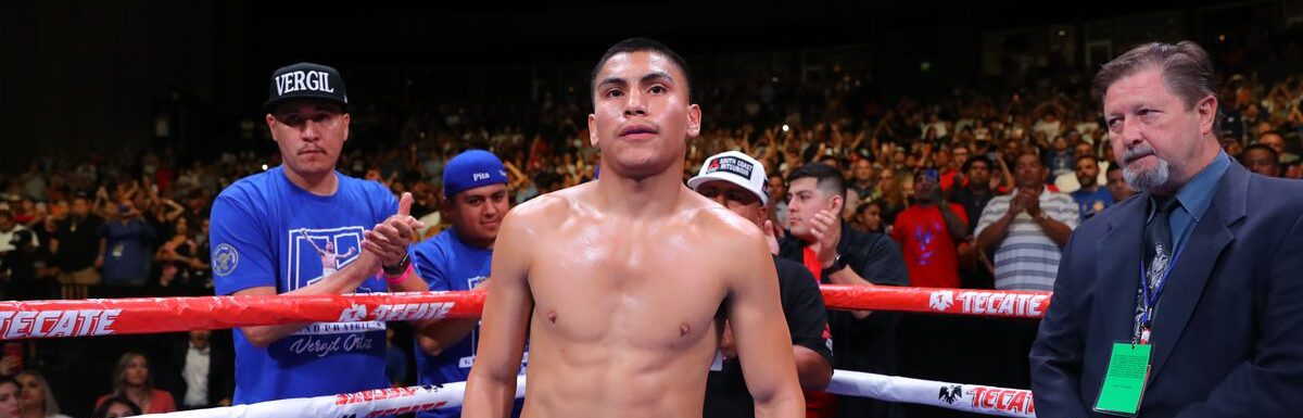 VERGIL ORTIZ JR FEELS SPIRIT OF THE AZTEC WARRIOR AND COULD PLAY GUITAR IN THE RING POST FIGHT