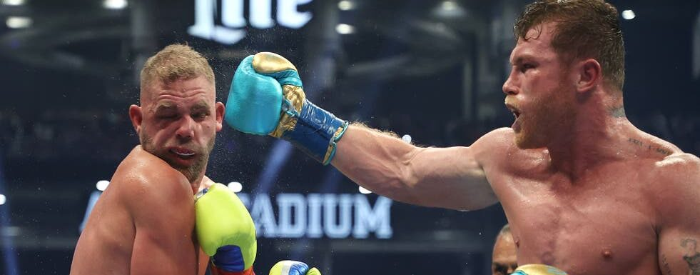 Billy Joe Saunders' boxing career in doubt after suffering broken eye socket against Canelo Alvarez