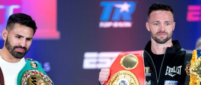Scotland's Josh Taylor looking to make his own slice of boxing history against Jose Ramirez