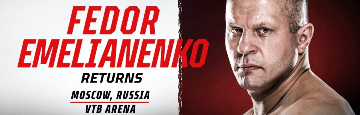 """Fedor """"The Last Emperor"""" Emelianenko returns to Moscow under the Bellator MMA banner on October 23 and believes heavyweight fights """"should be about finishing opponents"""""""
