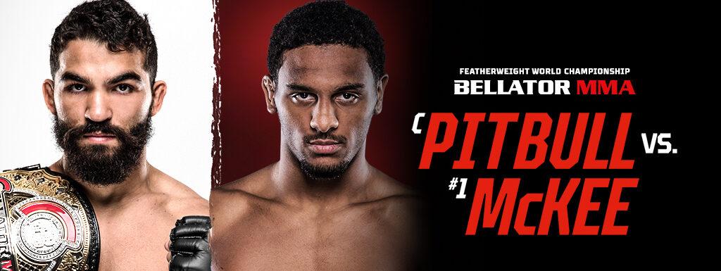 "Bellator news conference erupts as AJ McKee and trainer Antonio McKee claim Patricio Pitbull ""easy fight"""